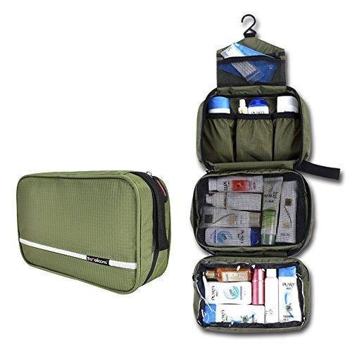 Oferta: 22.99€ Dto: -48%. Comprar Ofertas de Neceser de Aseo para Viaje, MAXCHANGE 4-Compartimentos Portátil Plegable Bolsa de Aseo con Gancho, Organizador para Negocios barato. ¡Mira las ofertas!