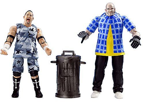 Total Nonstop Action Wrestling Twin Pack 3 Live Crew BG James and Konnan ** Click image to review more details.