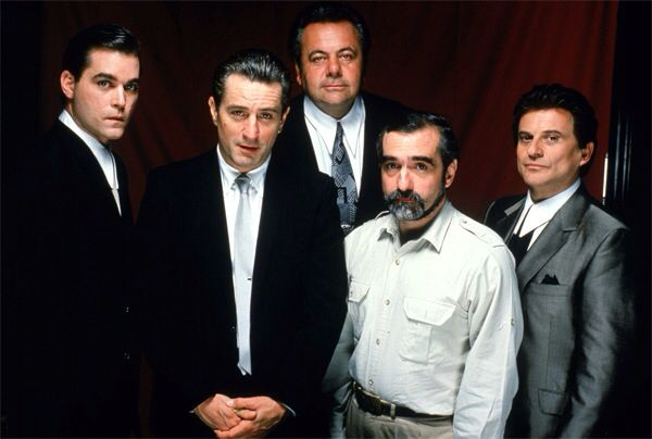 The cast of GoodFellas and Scorcese