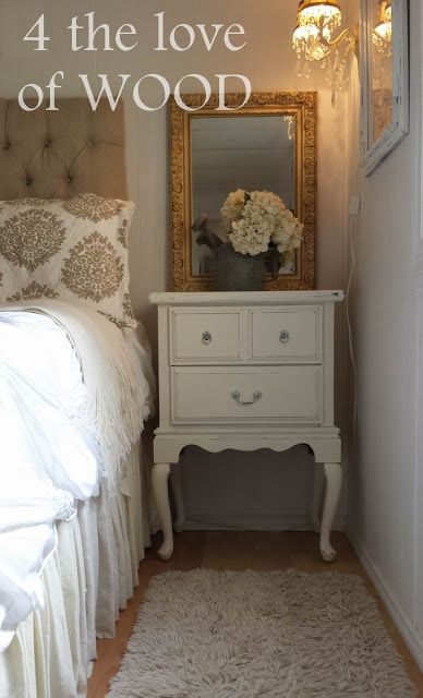 4 the love of wood: TALL BEDSIDE TABLES - for sale