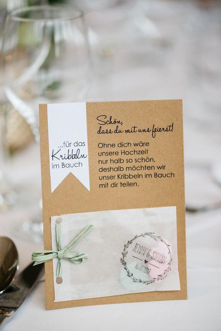 Gastgeschenk Hochzeit Tischdeko selbermachen #selbermachen #diy #diyhochzeit #ga