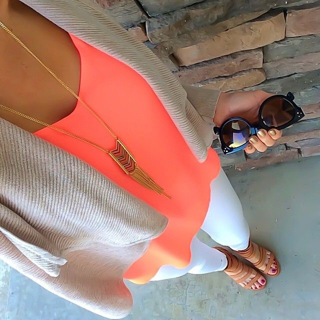 "It's Monday. That's all. � Cami color is ""rosy cheeks"" nails are Essie ""good as gold."" 