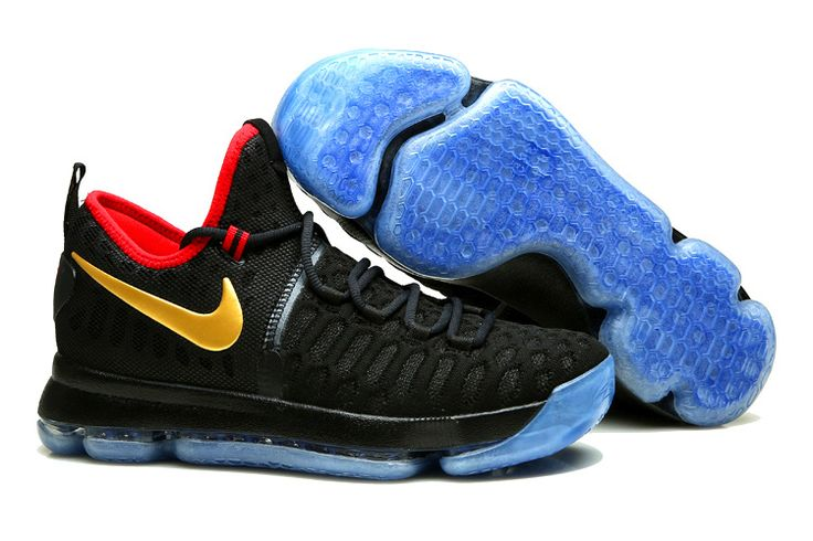"""Buy KD 9 """"Gold Medal"""" Olympics Dark Obsidian/Metallic Gold 2016 Super Deals  from Reliable KD 9 """"Gold Medal"""" Olympics Dark Obsidian/Metallic Gold 2016  Super ..."""
