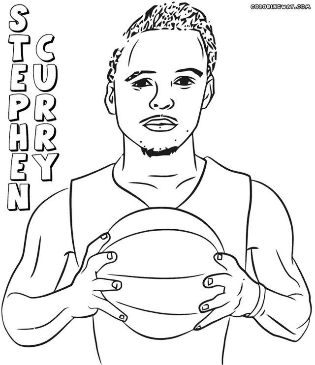 - 25+ Inspired Photo Of Stephen Curry Coloring Pages - Albanysinsanity.com Coloring  Pages To Print, Coloring Pages, Sports Coloring Pages