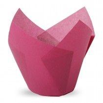 Muffiny tulipan fioletowe 50x80 mm