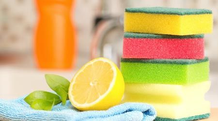 Throw away the toxic cleaning products sitting under the kitchen sink and get yourself a bag of lemons. Believe it or not these little yellow wonders will work miracles when it comes to cleaning the home.