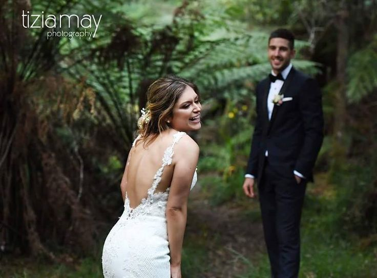 Lyrebird Falls❤ Mr & Mrs Lindgren ❤ having some fun in the forest yesterday. Congratulations you two!! Photographer: Tizia May Photography