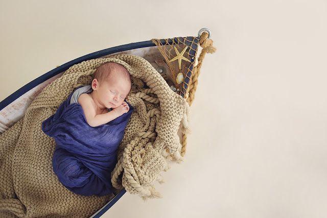 Newborn Photography, Nautical Newborn Photography, Newborn, Boat Prop, Butterfly Chaser Photography