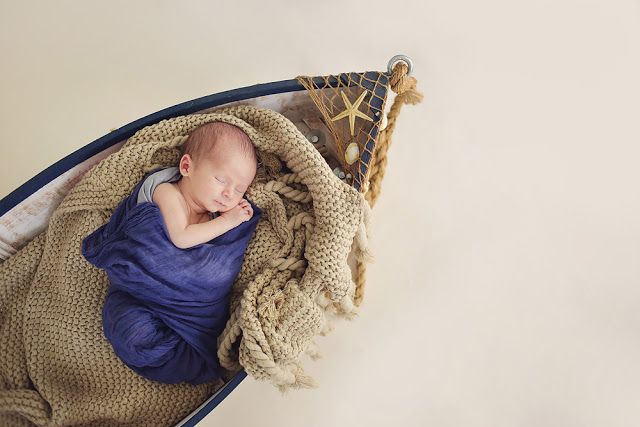 Newborn Photography, Nautical Newborn Photography, Newborn, Boat Prop, Butterfly Chaser Photography