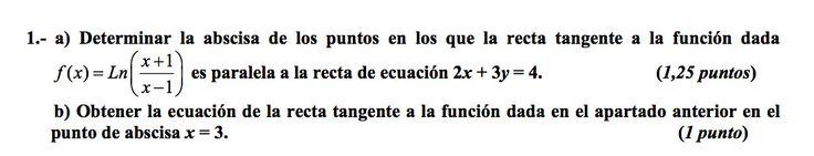 Ejercicio 1A 2004-2005 Setiembre. Propuesto en examen pau de Canarias. Matemática. Continuidad, derivabilidad y representación de funciones. Límites.