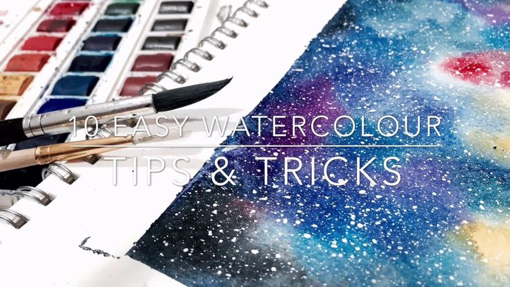 10 Easy Watercolour Tips & Tricks - YouTube