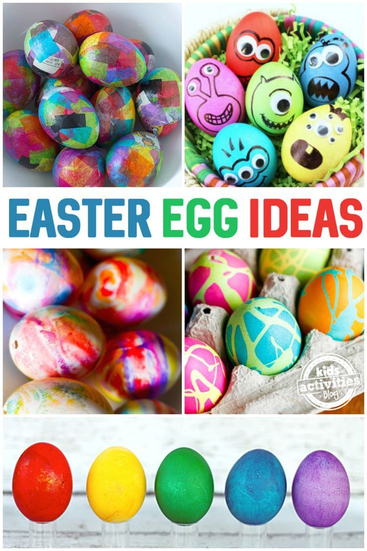 35 Ways To Decorate Easter Eggs Kids Activities Easter