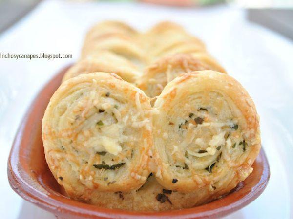 Receta Palmeritas saladas de hierbas, para Gypunto - Petitchef