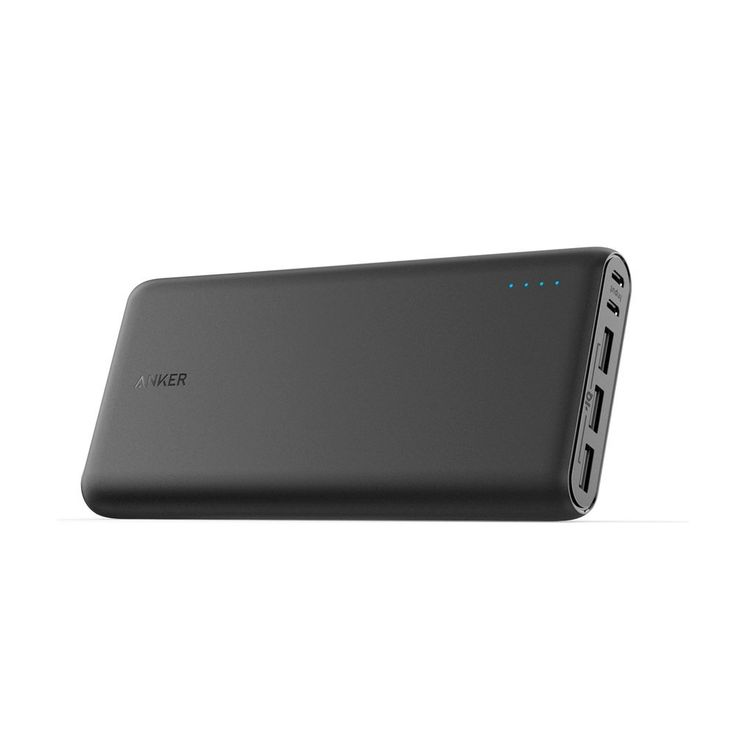 Amazon.com: Anker PowerCore 26800 Portable Charger, 26800mAh External Battery with Dual Input Port and Double-Speed Recharging, 3 USB Ports for iPhone, iPad, Samsung Galaxy, Android and other Smart Devices: AnkerDirect