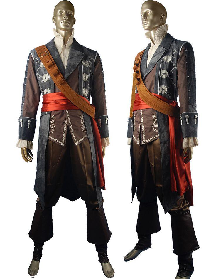 Assassins Creed black flag Edward Teach cosplay costume Blackbeard priate costume halloween costumes carnival costume comic-con anime costumes