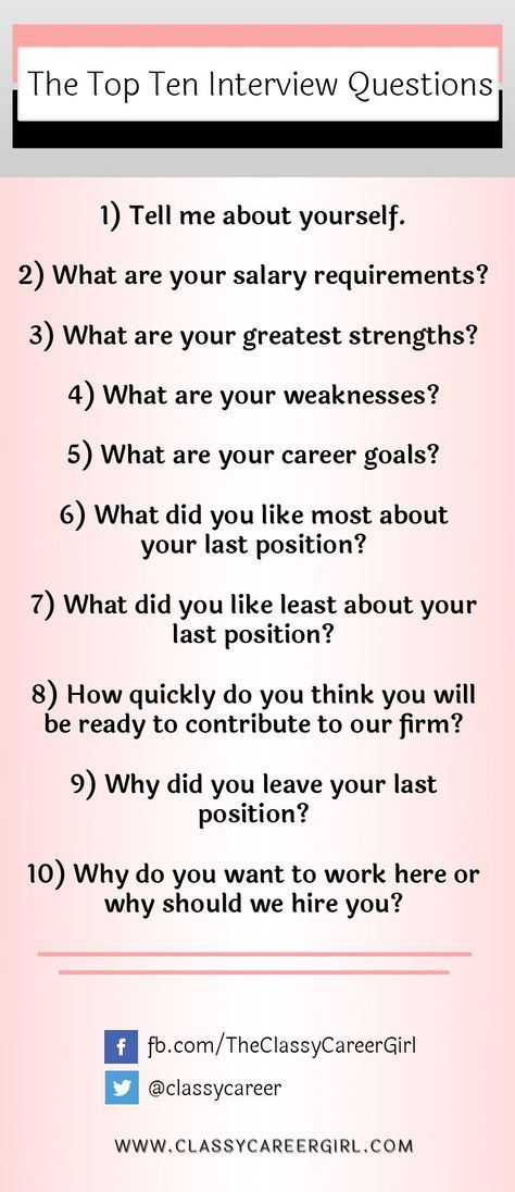 1000+ Ideas About Top Interview Questions On Pinterest | Interview