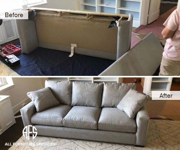 Couch Disassembly Reassembly Sofa Disassembling Furniture Take