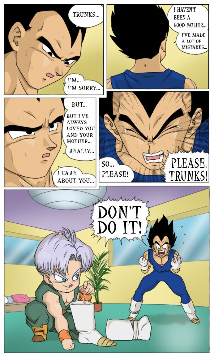 Dragonball z sex comic strips