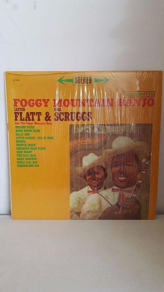 FOGGY MOUNTAIN BANJO LESTER FLATT & EARL SCRUGGS Vinyl Record CS8364 BLUEGRASS #TraditionalFolk