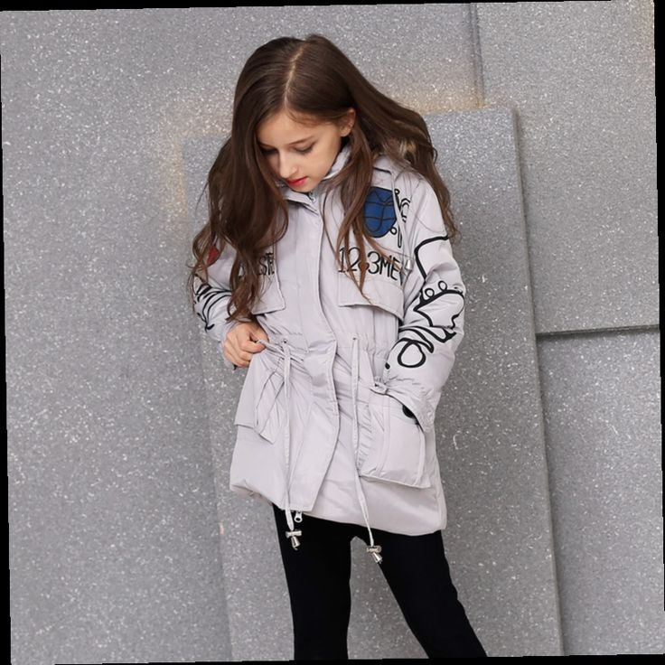 44.68$  Watch here - http://alilc5.worldwells.pw/go.php?t=32749324829 - Girl Jacket Children Parka Girl Kids Winter Jackets Girls Coat Clothes Parkas for Girls Teenage Winter Coats 2016 Manteau Fille 44.68$