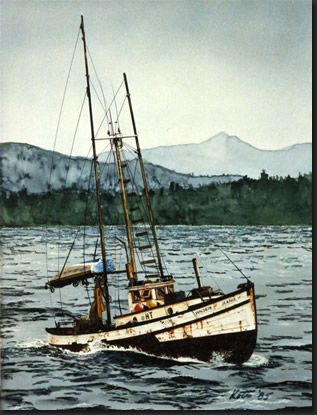 43 best images about salmon trollers on pinterest winter for Alaska fishing boats for sale