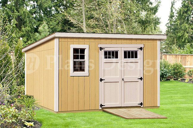 Details about modern roof style 8 39 x 12 39 deluxe shed for Material list for shed