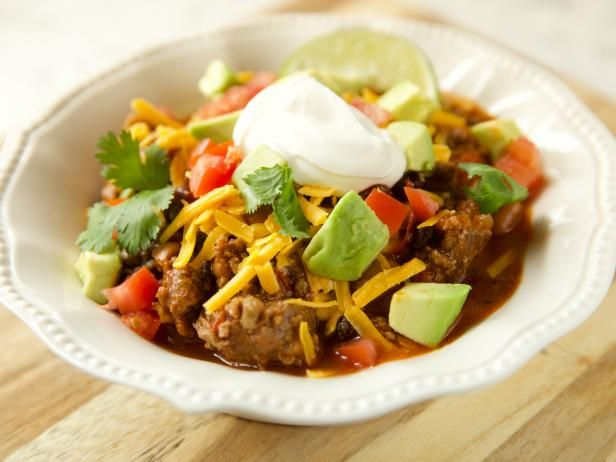 Get 3 Meat, 3 Bean, 3 Chili Chili Recipe from Food Network