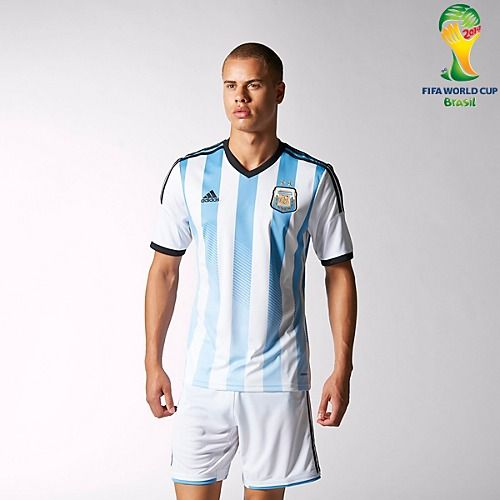 Argentina Soccer Shorts and Top.