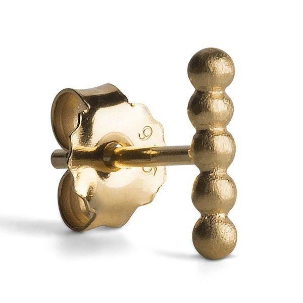 Jane Kønig Kuglerække ørestik - guld - Smykker - Accessories - Mode