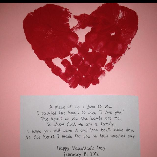 valentine card for parents