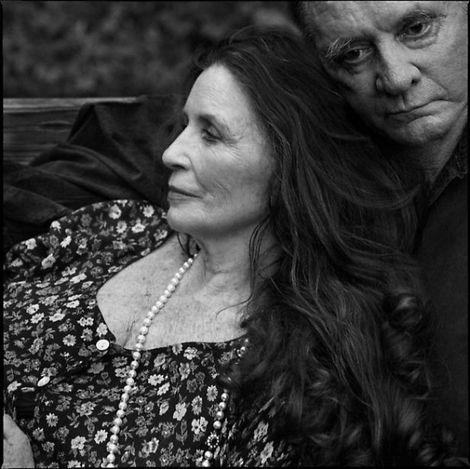 Annie Leibovitz, June Carter Cash and Johnny Cash, Hiltons, Virginia - 2001 on ArtStack #annie-leibovitz #art