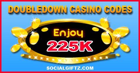 225K Doubledown Casino Promo Codes [9.04.15]