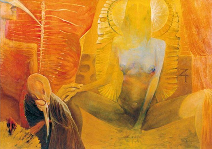 Krzysztof Krawiec - obrazy akryl - Karawana wizji
