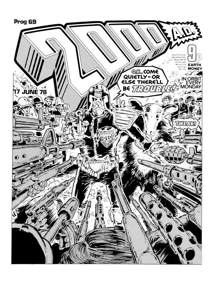 2000AD Covers Uncovered: Covers Special - Who's the McMahon?