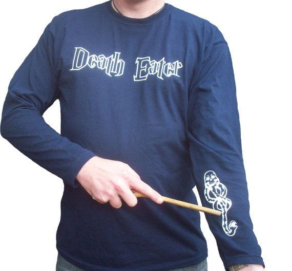 Harry Potter Death Eater Dark Mark long sleeve by GelertDesign, £15.00