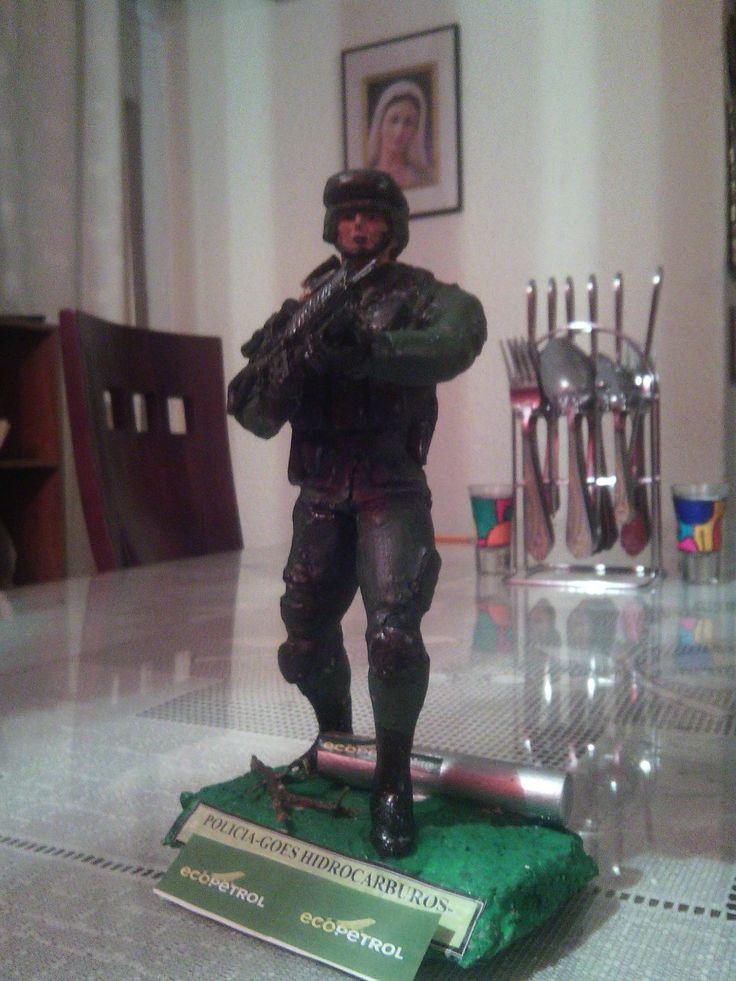 Figura militar policial