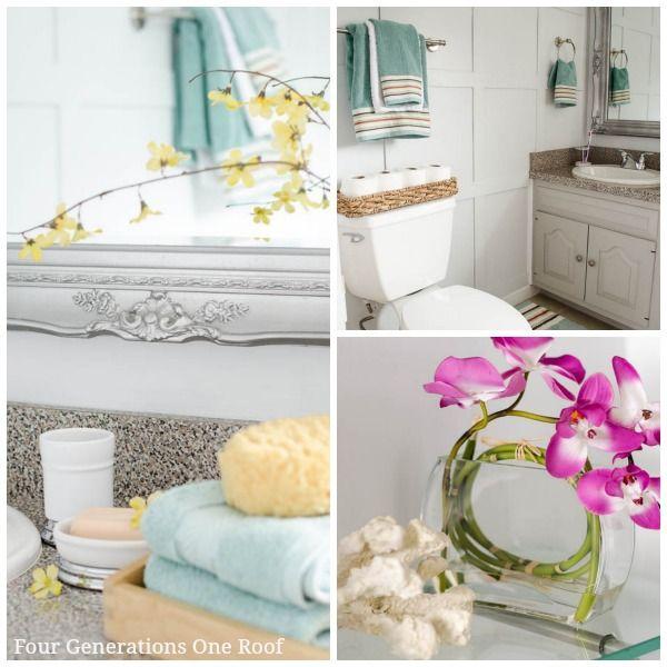 17 best ideas about spa bathroom themes on pinterest green bathroom decor spa bathroom decor for Spa themed bathroom ideas