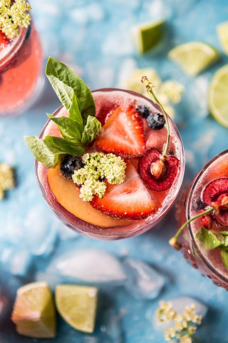 Summertime Rose Tequila Sangria   halfbakedharvest.com @hbharvest