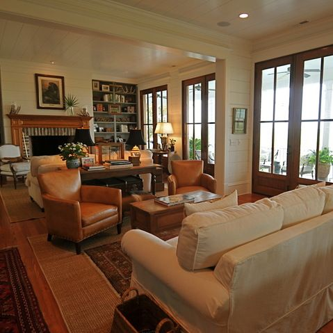 arrange furniture in long living room white trim wood windows design ideas pictures remodel 24651