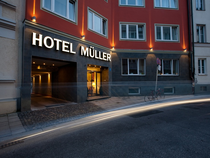 Superb KleinFein Hotel mitten in M nchen im angesagten Glockenbachviertel Small and sophisticated hotel in central
