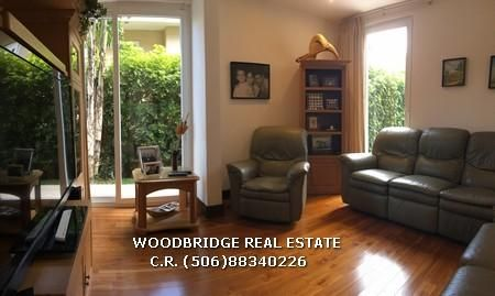 homes for sale in Costa Rica Escazu,/ Costa Rica Escazu real estate home for sale in gated community $890.000 Woodbridge real estate Costa Rica (506)88340226