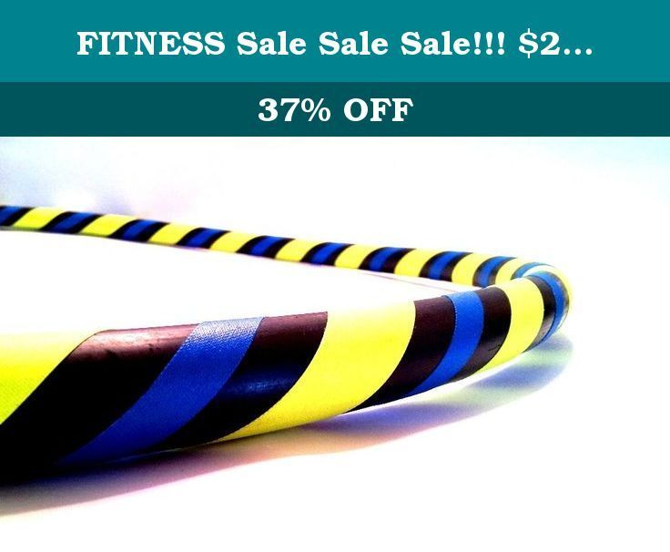 """FITNESS #Sale #Sale Sale!!! $25.00 40"""" Hula Hoop (Twister). DIRECT FROM THE MANUFACTURER. Featuring the original manufacturer of the """"BREAK AWAY"""" the newest innovation in hula hooping. Paradise Hoops is formally the manufacturer for about 90% of Hoopnotica's handmade hula hoops. We have the BEST QUALITY BEST PRICE. This """"BREAK AWAY"""" hula hoop was created by Janou Lightning former team leader of Hoopnotica. She took her expertise in the hooping industry and made a hoop that is easy to…"""