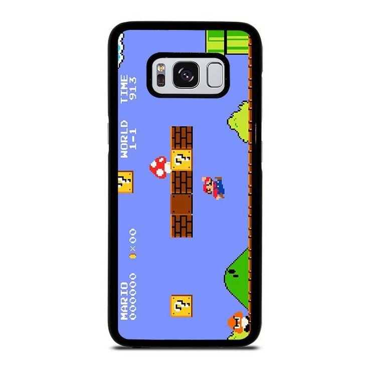 MARIO BROSS RETRO NES Samsung Galaxy S3 S4 S5 S6 S6 Egde S6 Edge Plus S7 S7 Edge S8 S8 Plus Note 3 4 5 8