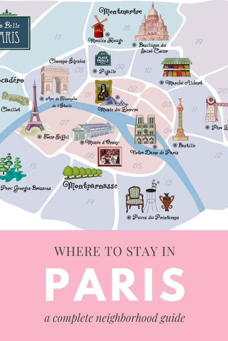 Where to Stay in Paris – A Neighborhood Guide to Paris Arrondissements