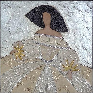 Pareja de Cuadros Meninas [09-008]   www.olyarte.com