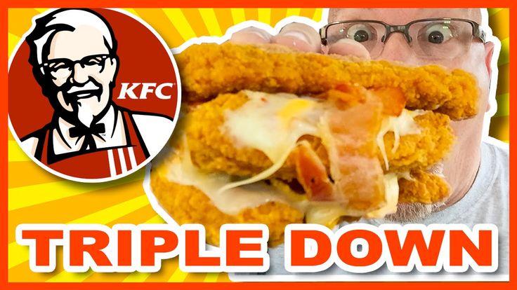 "KFC Secret Menu Item ""THE TRIPLE DOWN"" Collab with List25"
