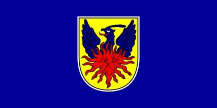 Bandera de Ubdina, ciudad de Croacia.