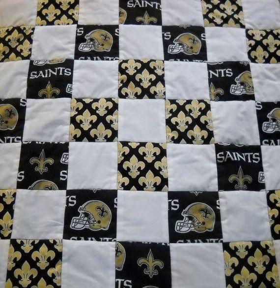 40 Best Saints Quilts Images On Pinterest