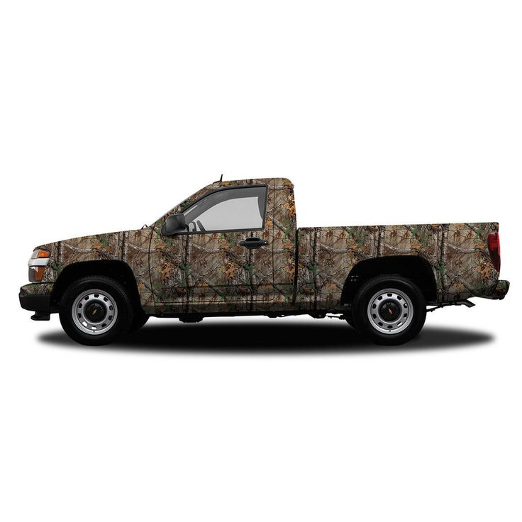 Realtree Camo Compact Truck/SUV Size Vehicle Wrap Xtra