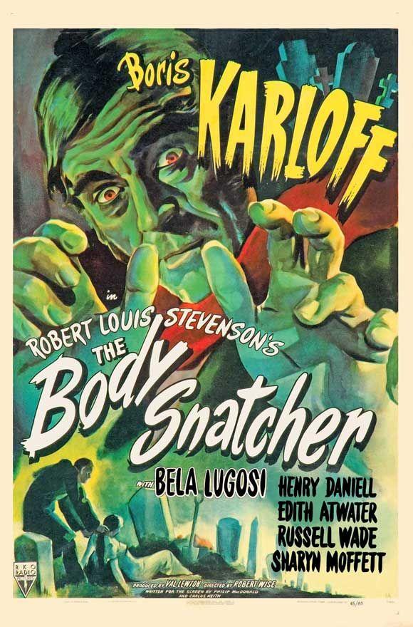 The Body Snatcher, Boris Karloff - Horror